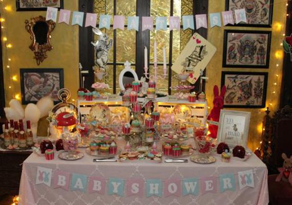 Von Muffins bis Sekt und das alles in märchenhafter Umgebung - ein Sweet Table zum Träumen