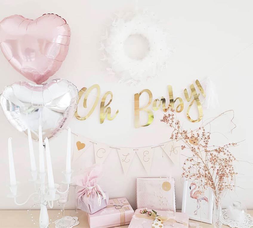Mit der richtigen Verpackung bekommt jedes Geschenk einen Babyparty-tauglichen Look (c) c.loves.c