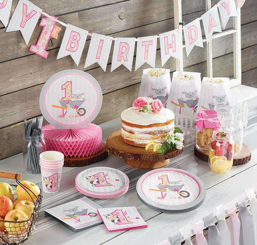 Feiern den 1. Bauernhof-Geburtstag mit süßer Deko aus unserem Shop