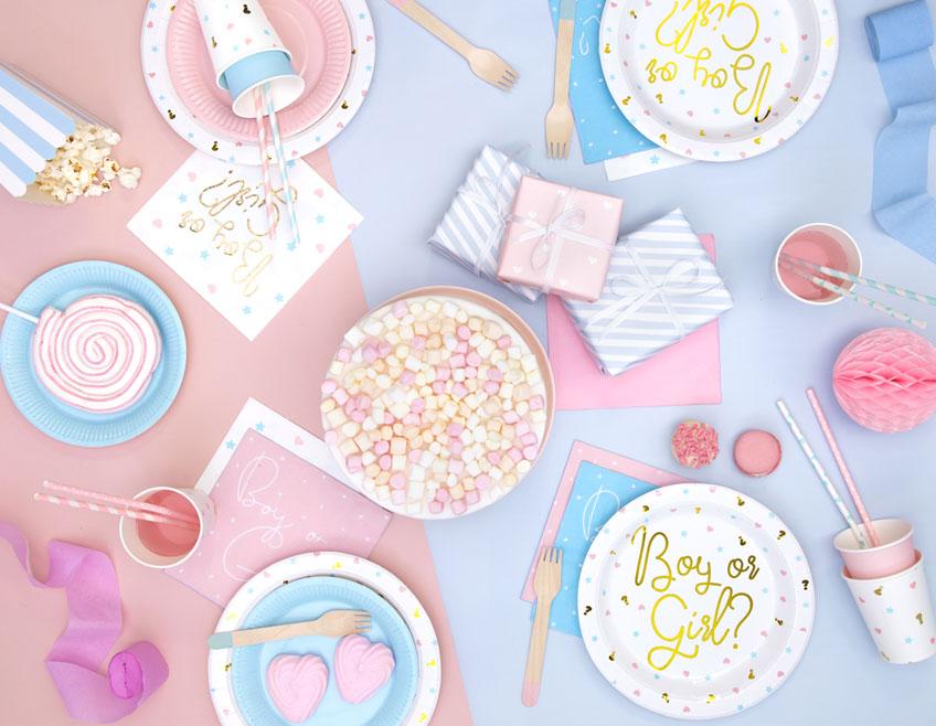 Süß pastellig - so dekorierst du deine Gender Reveal Party