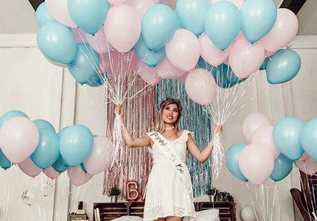 Gender Reveal - geht eigentlich nicht ohne Luftballons (c) kisu