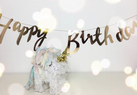 Macht das Einhorn zu eurem Geburtstagsgast! Weitere schöne Deko-Accessoires findet ihr in unserem Shop. Foto: Lifewithsnow